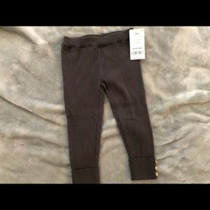 Carter's leggings with button detailing